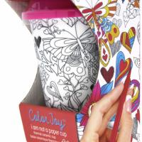 Color it Heart Cup
