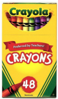 Crayons Crayola (Box of 48)