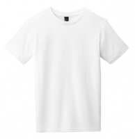 T-Shirt for KIDS (WHITE). DISTRICT