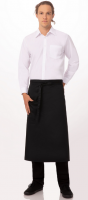 Apron Long BISTRO (Color BLACK)
