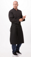 Apron CHEF TAPERED (Color BLACK)