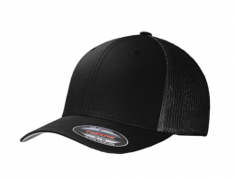 Cap FlexFit / Mesh Back (BLACK)
