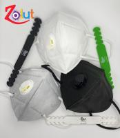 Mask KN95 With VALVES (Assorted Color) + Strap FREE